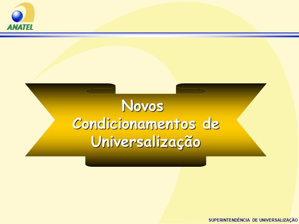 Novos Condicionamentos de Universalização