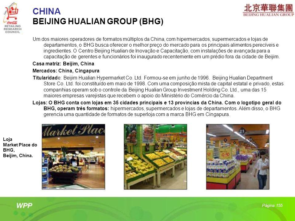 CHINA BEIJING HUALIAN GROUP (BHG)