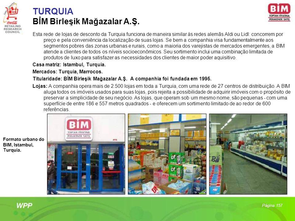 TURQUIA BİM Birleşik Mağazalar A.Ş.