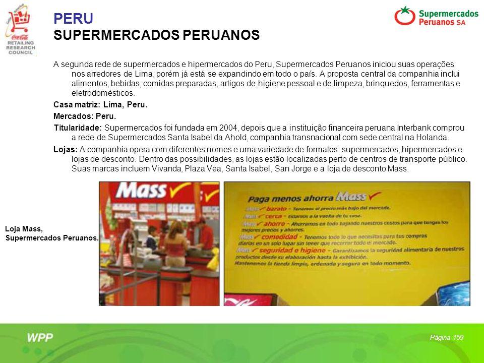 PERU SUPERMERCADOS PERUANOS