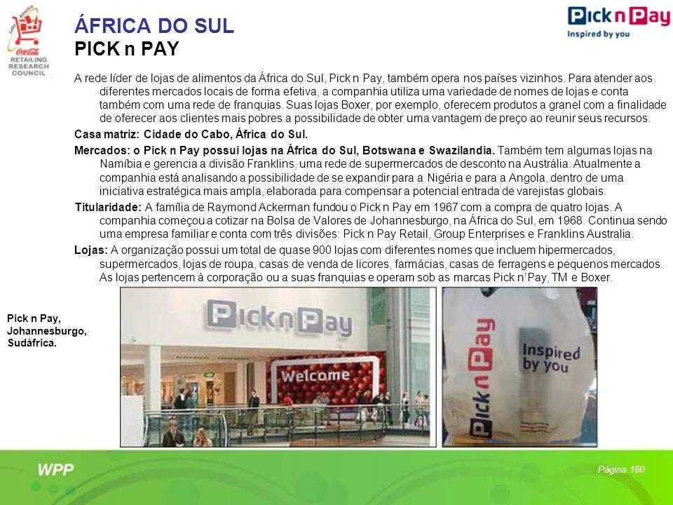 ÁFRICA DO SUL PICK n PAY