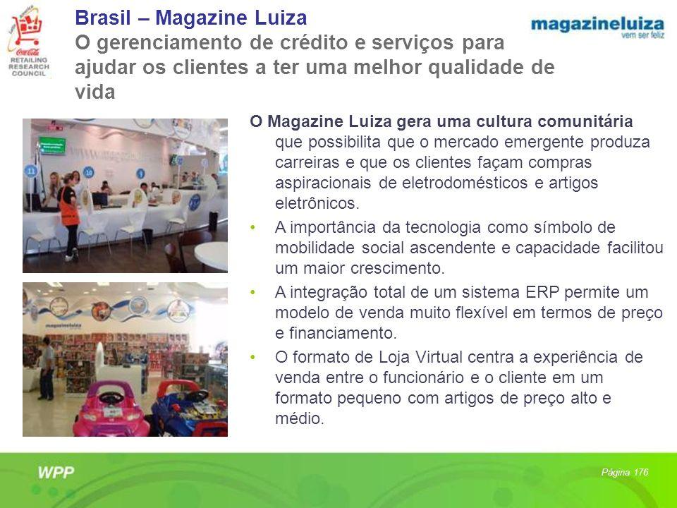 Brasil – Magazine Luiza O gerenciamento de crédito e serviços para ajudar os clientes a ter uma melhor qualidade de vida