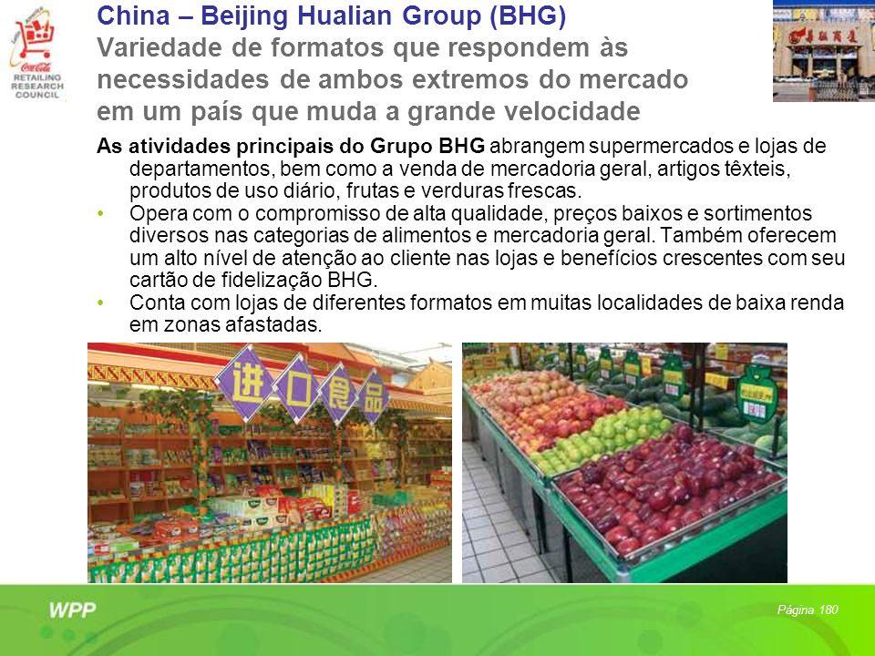 China – Beijing Hualian Group (BHG) Variedade de formatos que respondem às necessidades de ambos extremos do mercado em um país que muda a grande velocidade