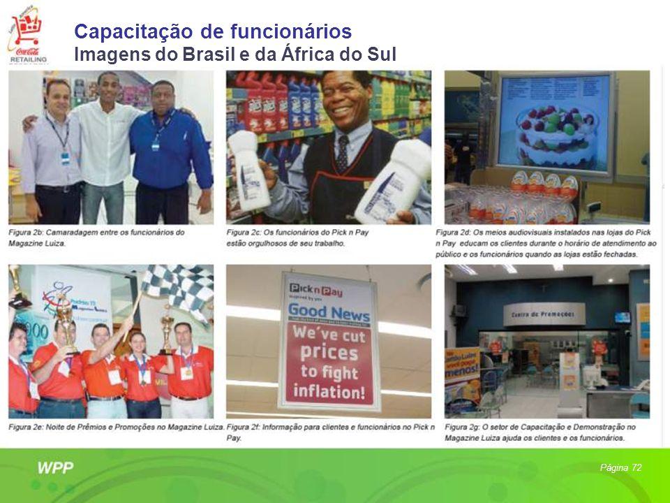 Capacitação de funcionários Imagens do Brasil e da África do Sul