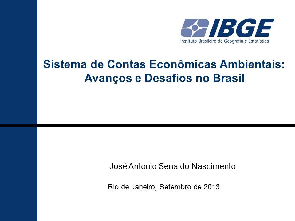 Sistema de Contas Econômicas Ambientais: Avanços e Desafios no Brasil