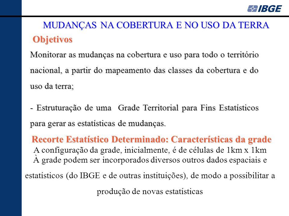 Recorte Estatístico Determinado: Características da grade