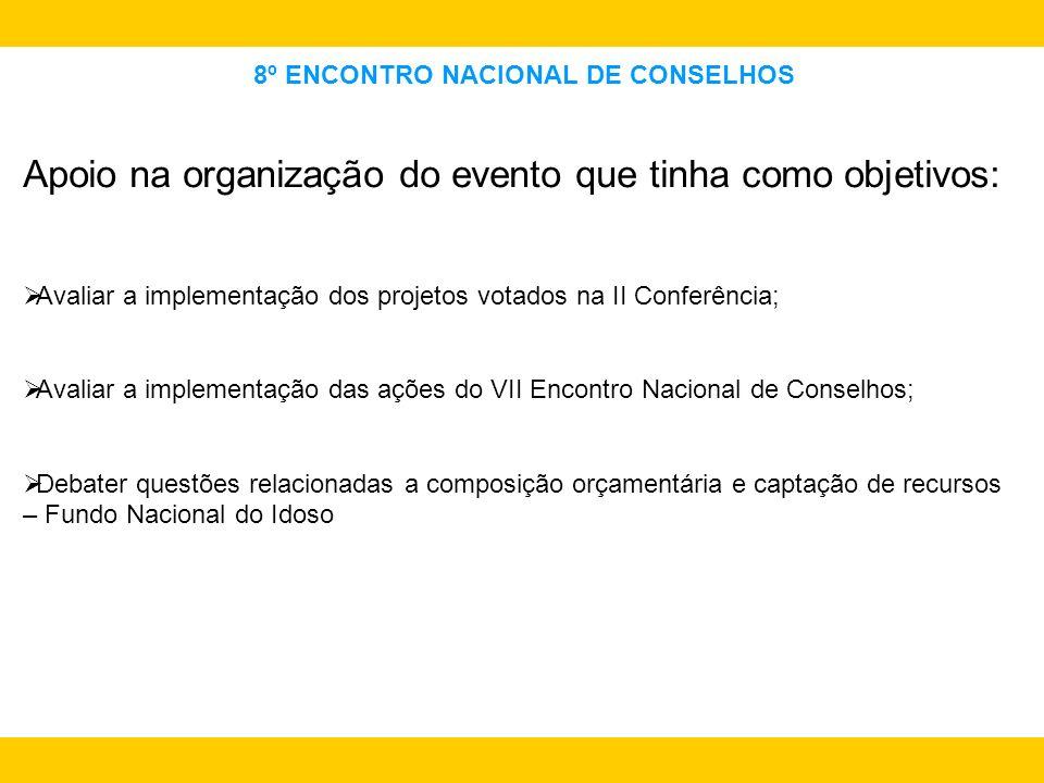 8º ENCONTRO NACIONAL DE CONSELHOS