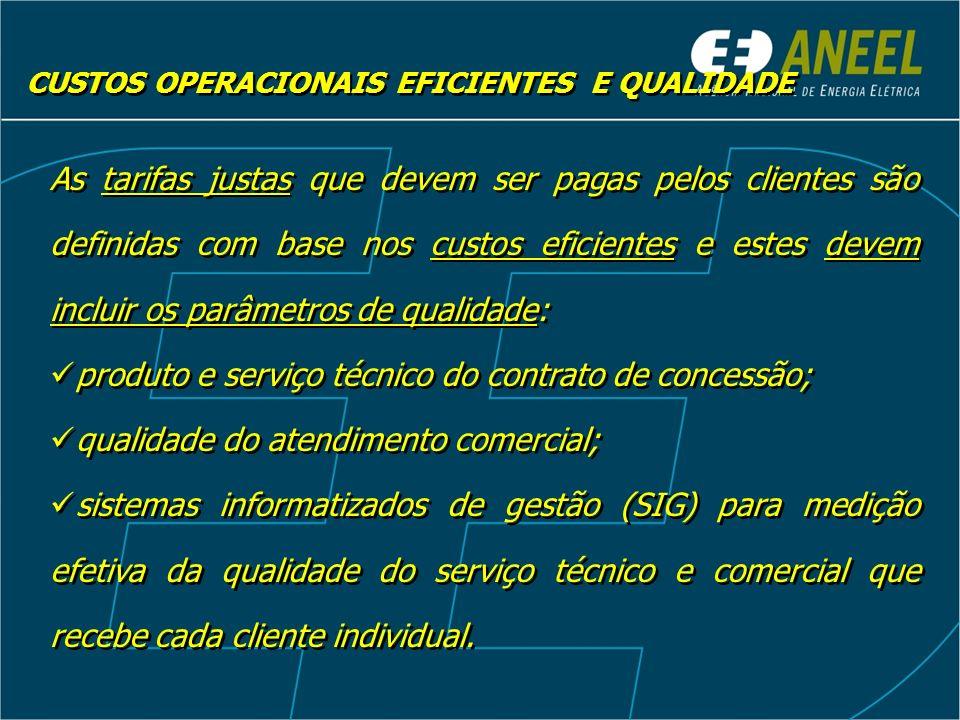 produto e serviço técnico do contrato de concessão;