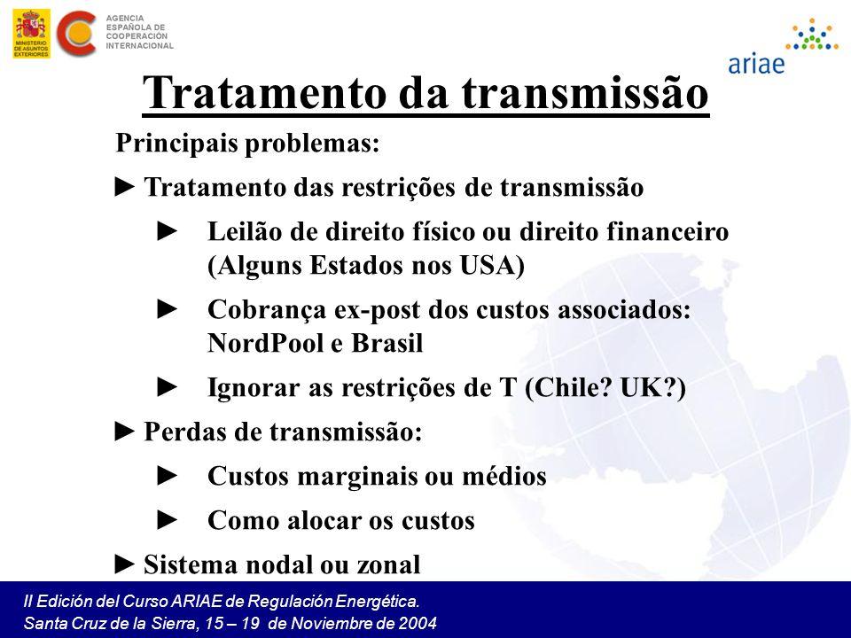 Tratamento da transmissão