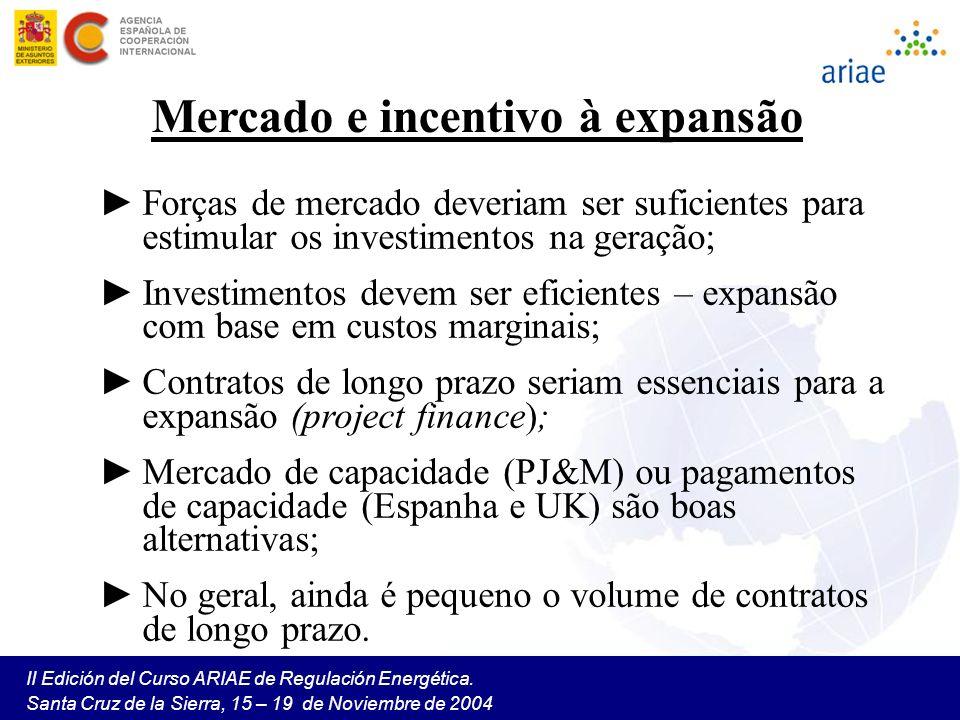 Mercado e incentivo à expansão