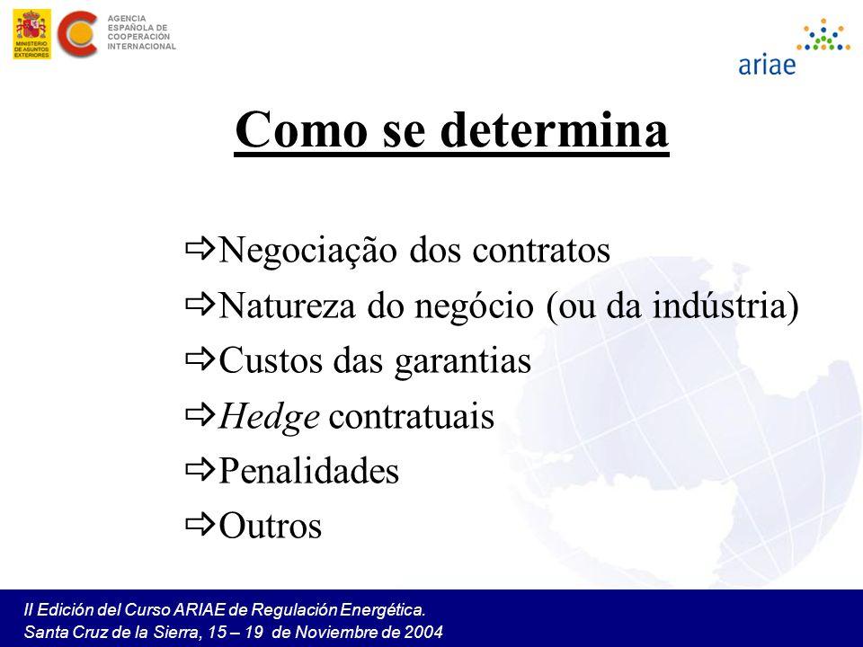 Como se determina Negociação dos contratos