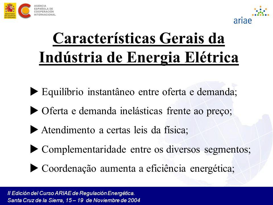 Características Gerais da Indústria de Energia Elétrica