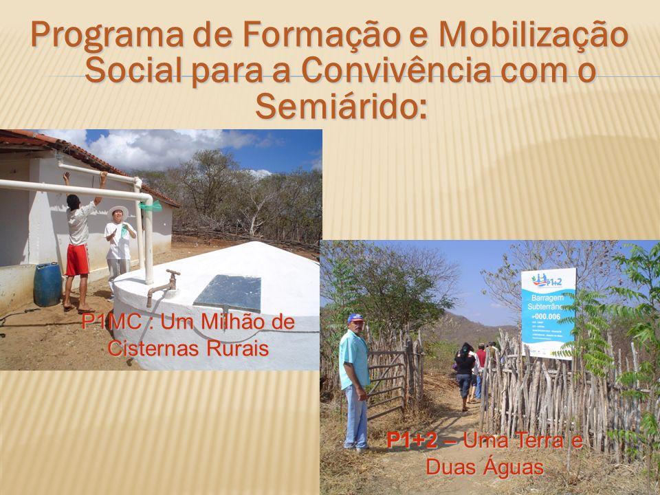 Programa de Formação e Mobilização Social para a Convivência com o Semiárido: