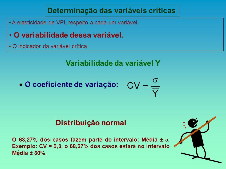 Determinação das variáveis críticas