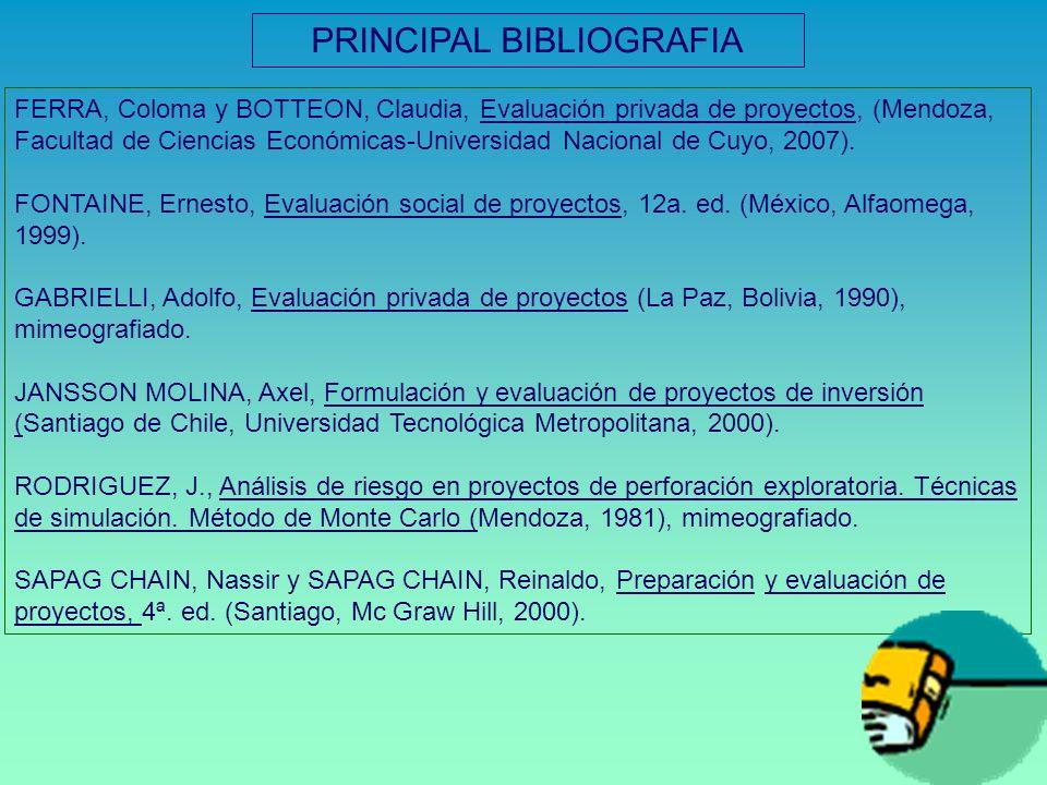 PRINCIPAL BIBLIOGRAFIA