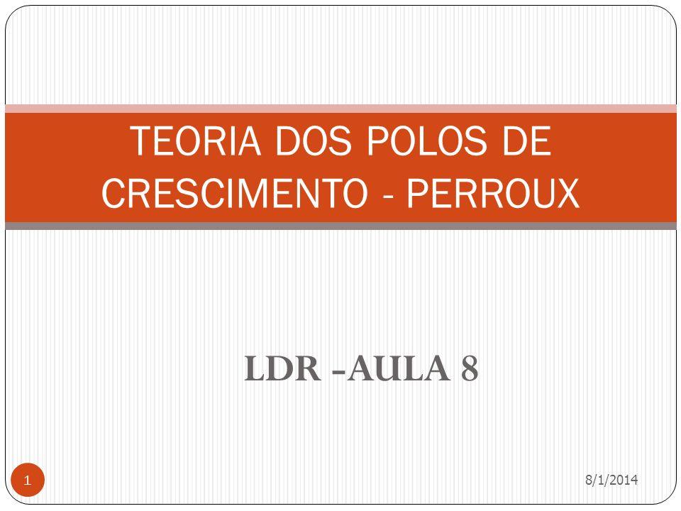 TEORIA DOS POLOS DE CRESCIMENTO - PERROUX