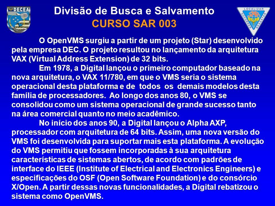 O OpenVMS surgiu a partir de um projeto (Star) desenvolvido pela empresa DEC. O projeto resultou no lançamento da arquitetura VAX (Virtual Address Extension) de 32 bits.
