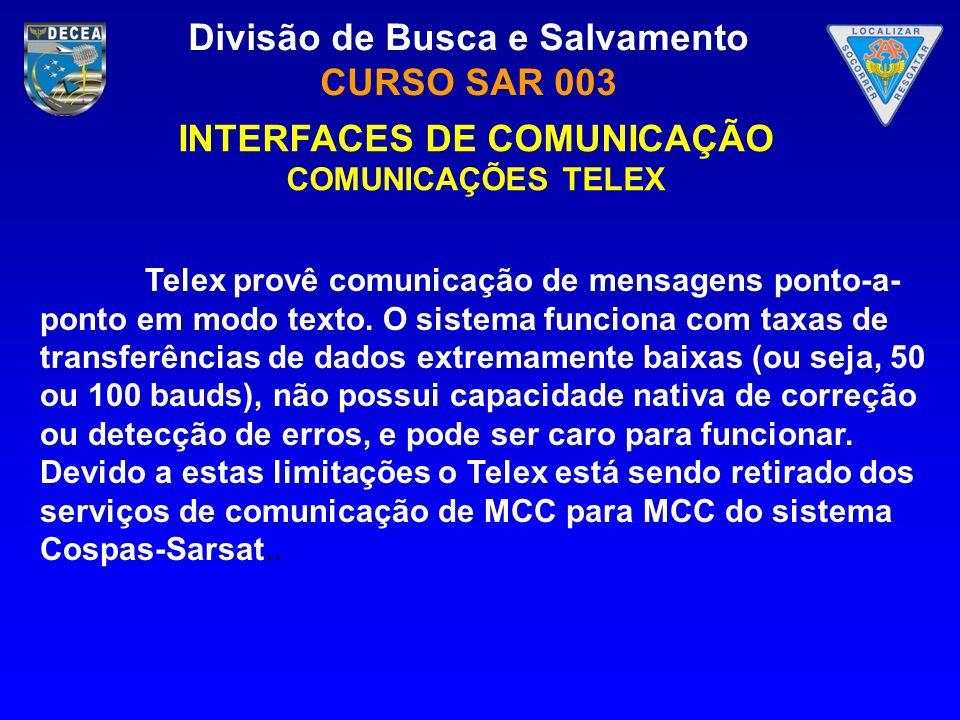 INTERFACES DE COMUNICAÇÃO
