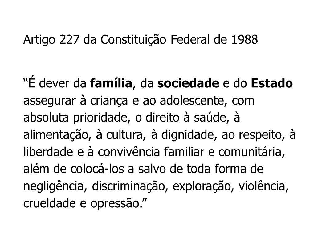 Artigo 227 da Constituição Federal de 1988