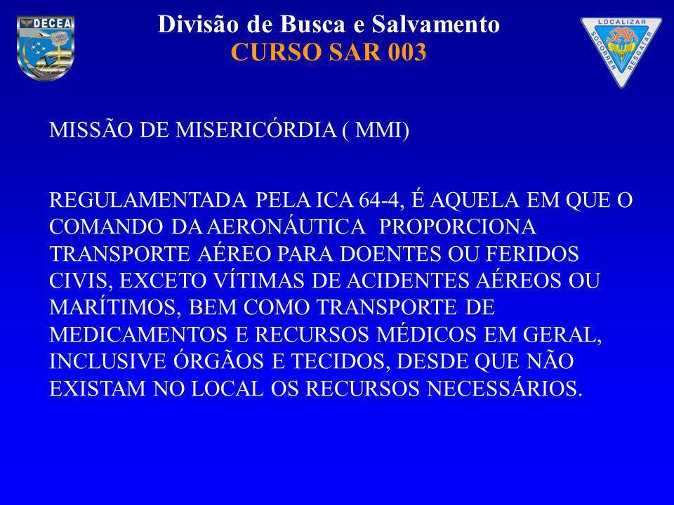 MISSÃO DE MISERICÓRDIA ( MMI)