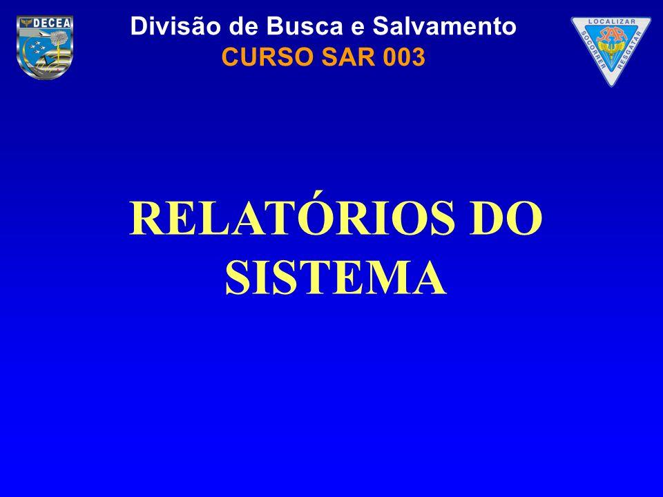 RELATÓRIOS DO SISTEMA