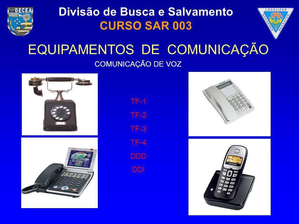 EQUIPAMENTOS DE COMUNICAÇÃO