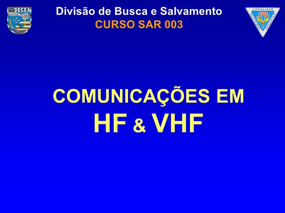 COMUNICAÇÕES EM HF & VHF