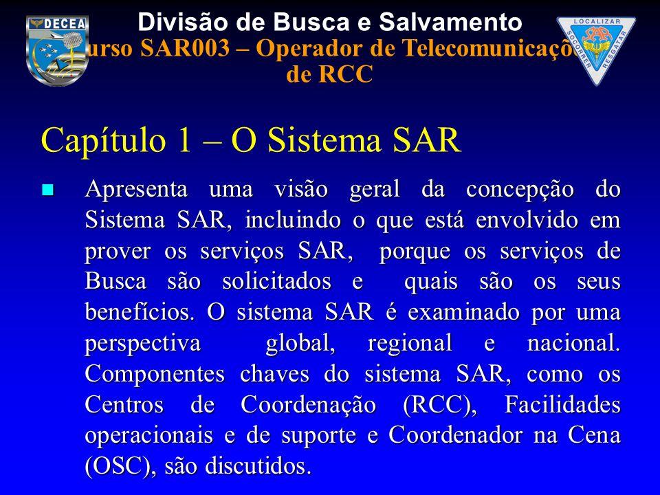 Capítulo 1 – O Sistema SAR