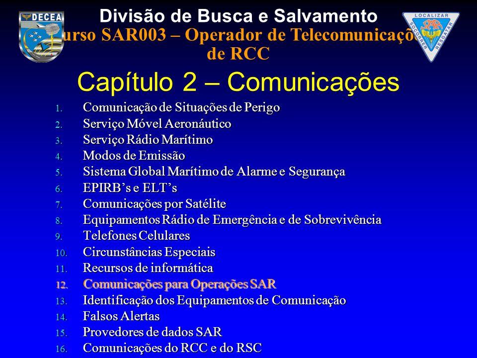 Capítulo 2 – Comunicações