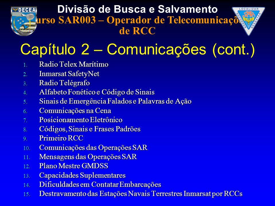 Capítulo 2 – Comunicações (cont.)