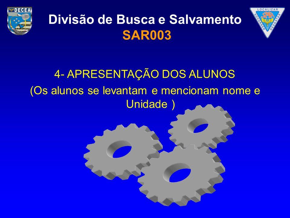 Divisão de Busca e Salvamento SAR003