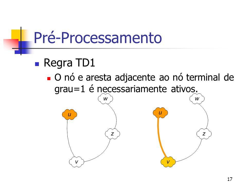 Pré-Processamento Regra TD1
