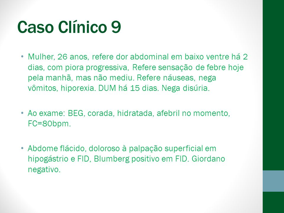 Caso Clínico 9