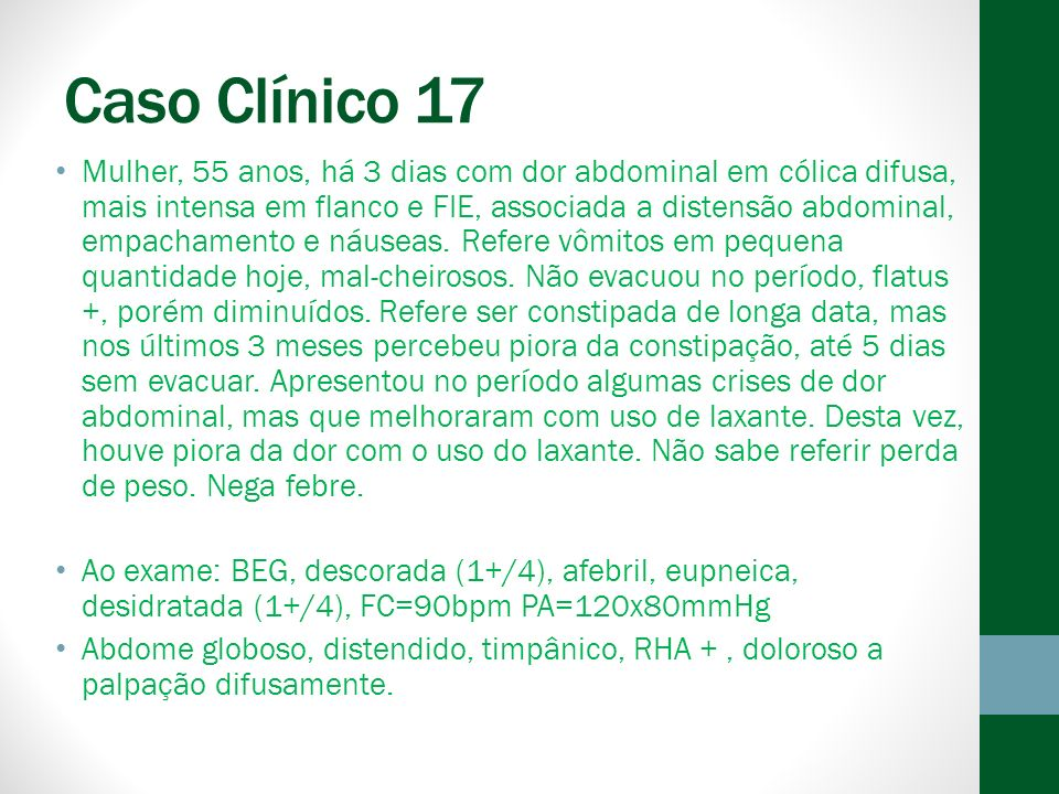 Caso Clínico 17