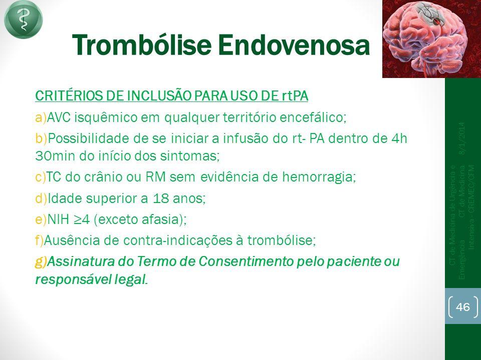 Trombólise Endovenosa