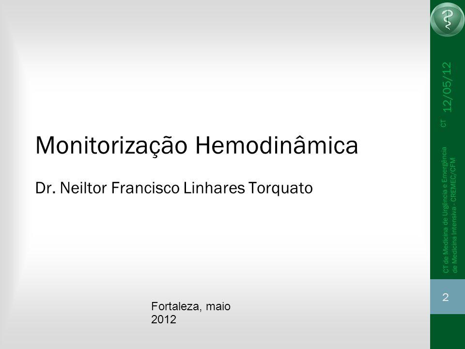 Monitorização Hemodinâmica Dr. Neiltor Francisco Linhares Torquato