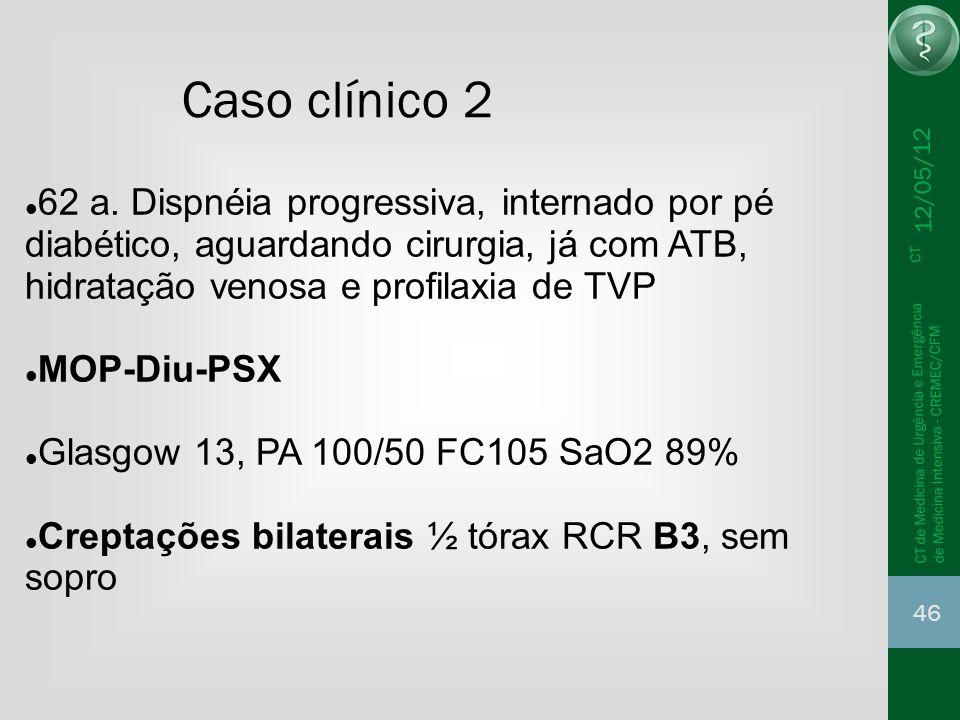Caso clínico 2 12/05/12.