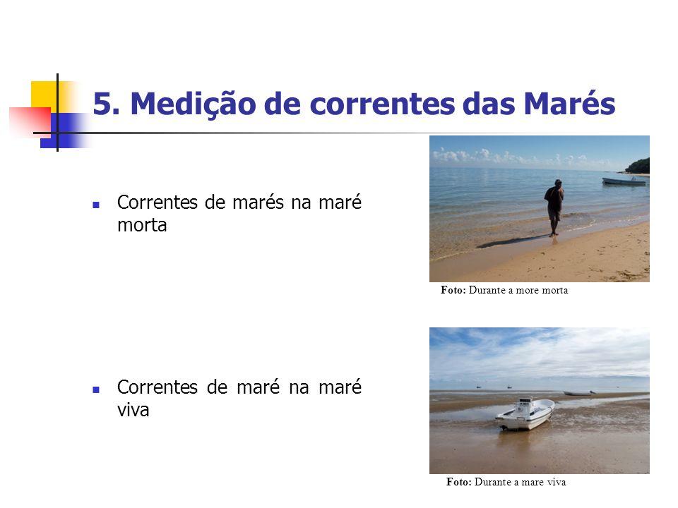 5. Medição de correntes das Marés