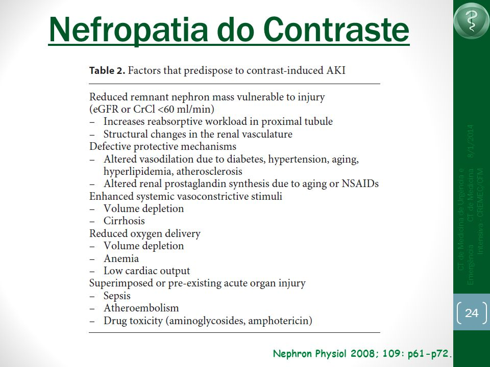 Nefropatia do Contraste