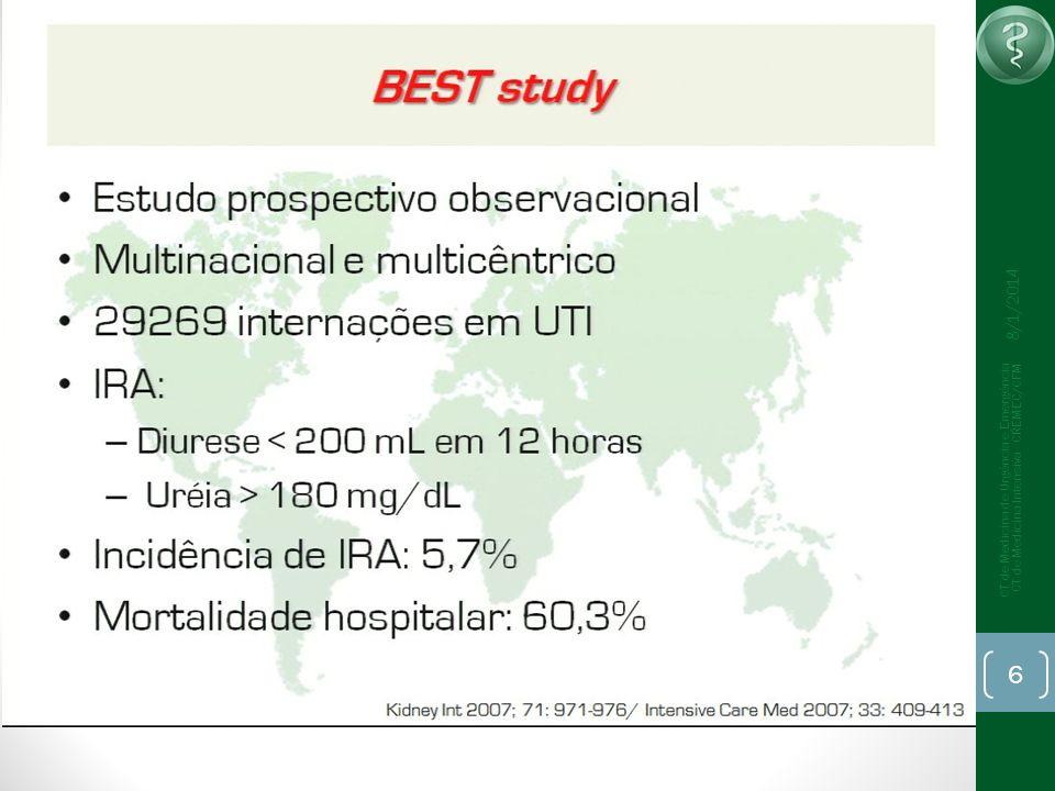 25/03/2017 CT de Medicina de Urgência e Emergência CT de Medicina Intensiva - CREMEC/CFM