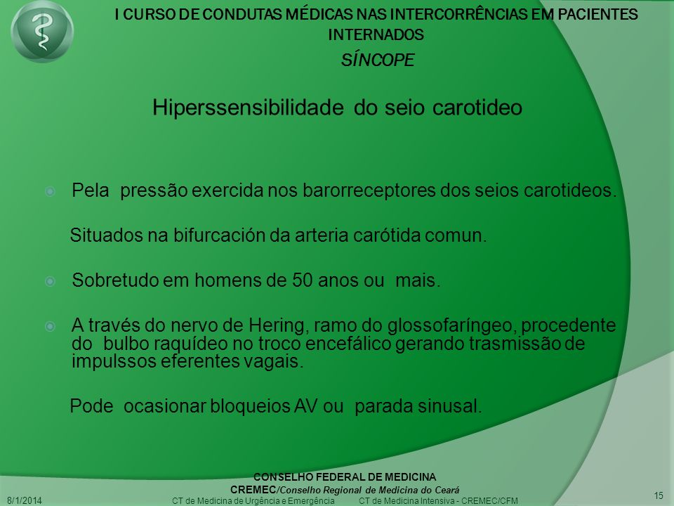 Hiperssensibilidade do seio carotideo