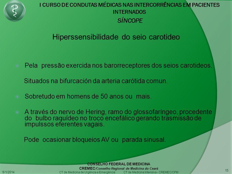 Hiperssensibilidade do seio carotideo