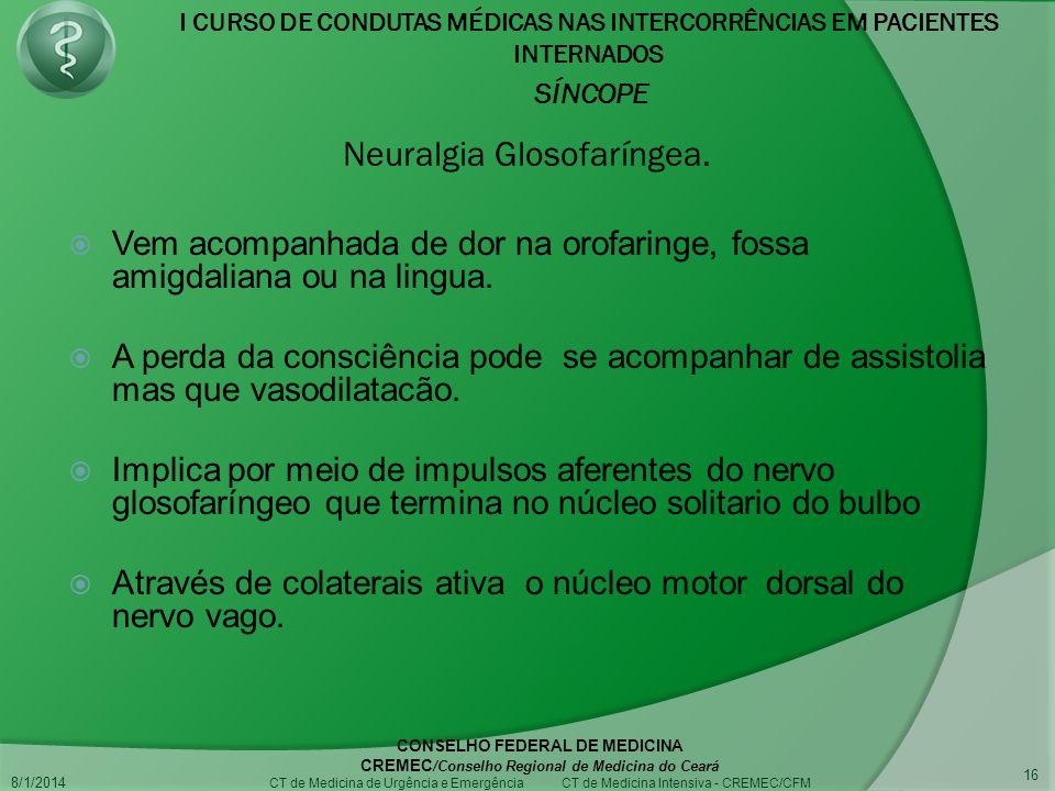 Neuralgia Glosofaríngea.