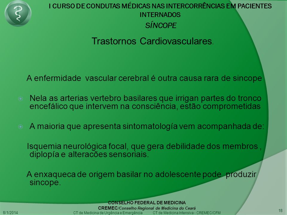 Trastornos Cardiovasculares.