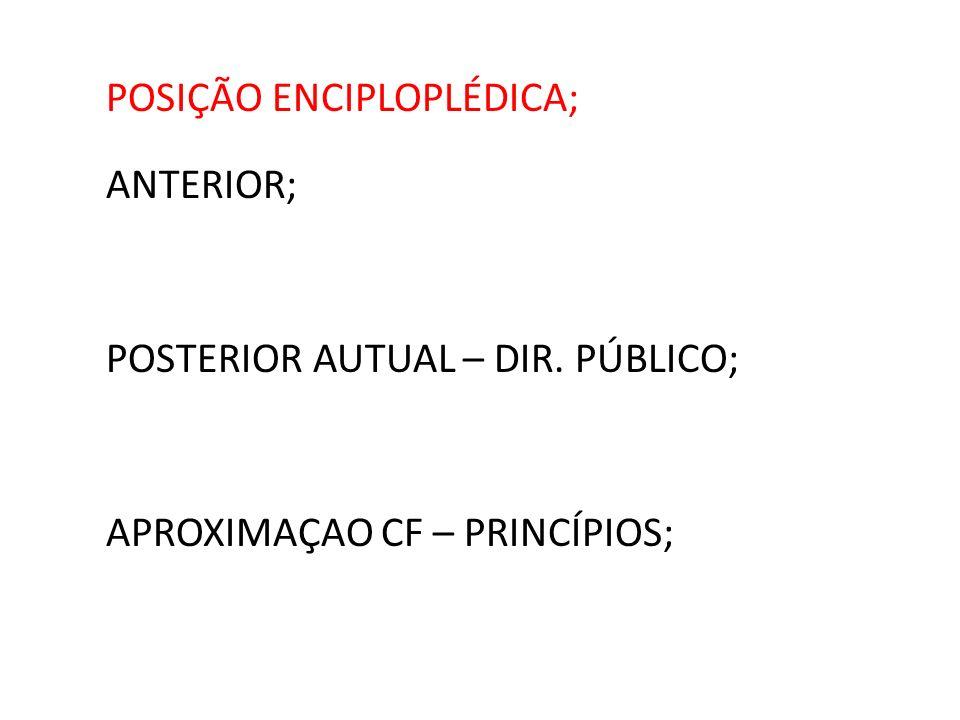 POSIÇÃO ENCIPLOPLÉDICA;