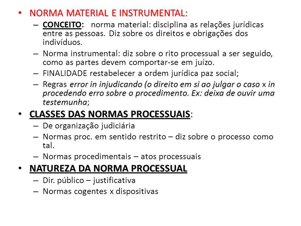 NORMA MATERIAL E INSTRUMENTAL: