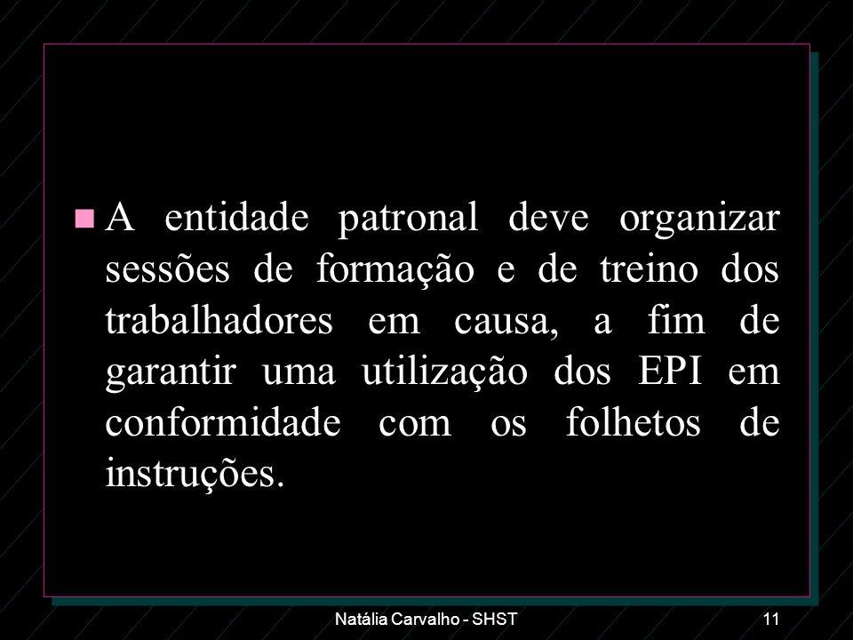 Natália Carvalho - SHST