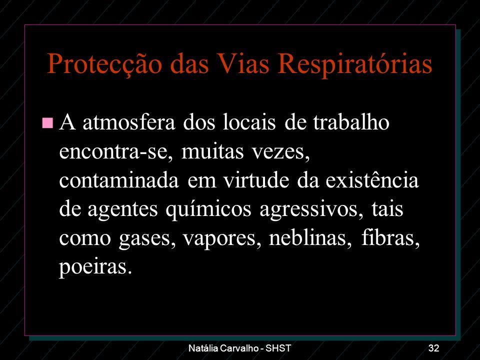 Protecção das Vias Respiratórias