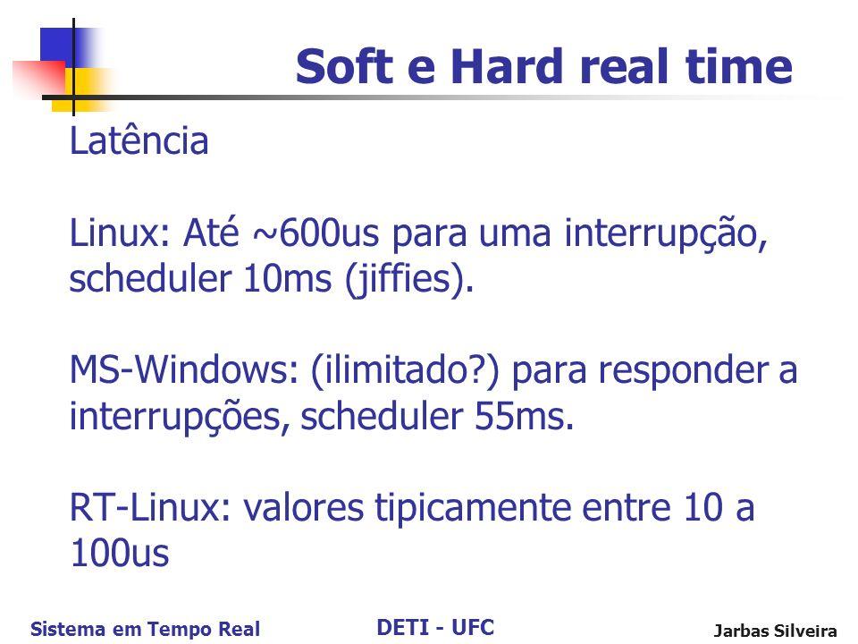 Soft e Hard real time