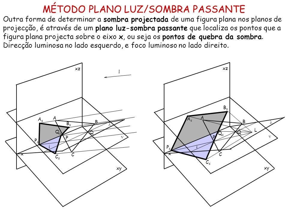 MÉTODO PLANO LUZ/SOMBRA PASSANTE